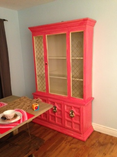 China Cabinet Makeover – My Southern Mommy