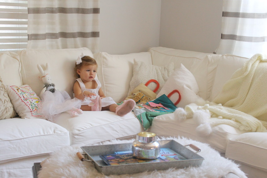 Honest review of a messy family and their Ektorp Sofa - My Southern Mommy